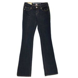 Mossimo Jeans Size 1 Boot Cut Lower Waist Straight